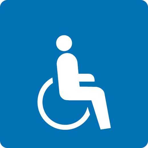 Accessibile in sedia a rotelle