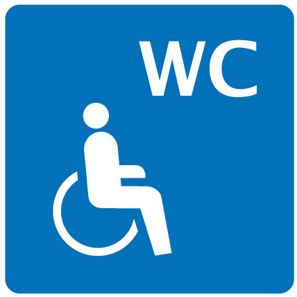 Toilets wheelchair-accessible
