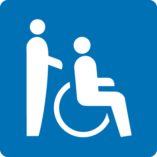 Parzialmente accessibile in sedia a rotelle