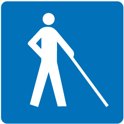 Facilities for persons with visual impairments